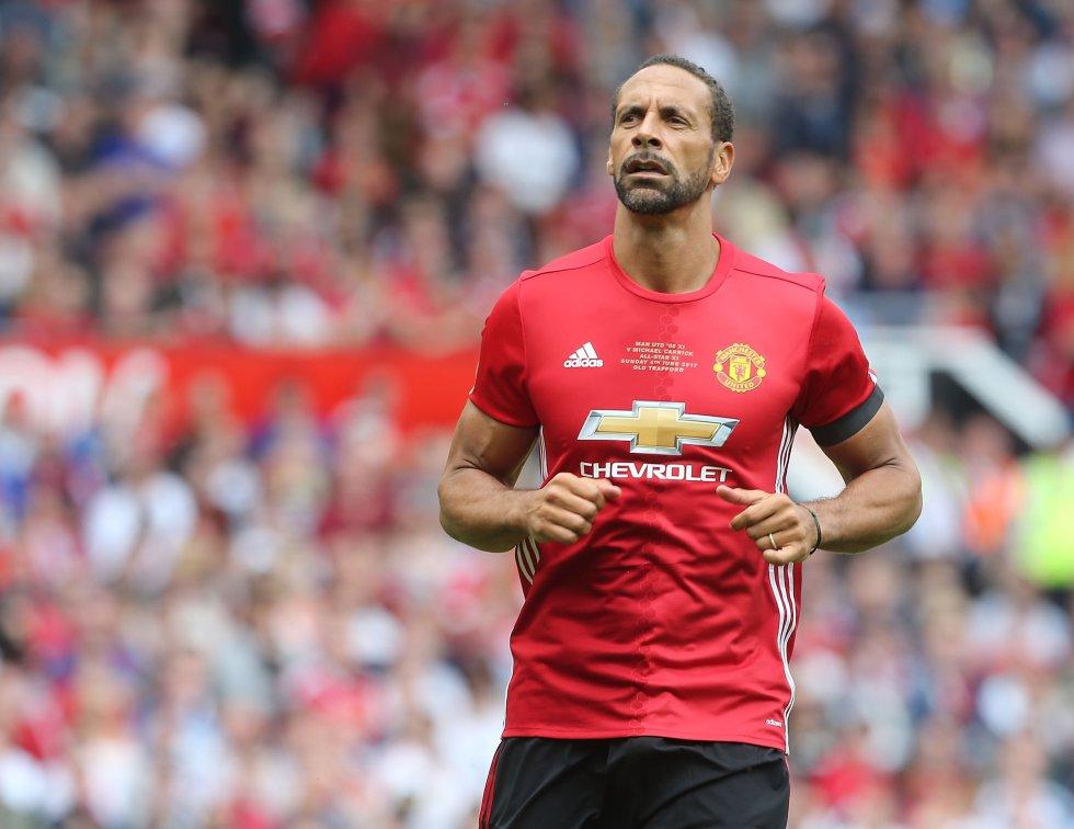 6. Rio Ferdinand -del Leeds United al Manchester United- (46 millones de Euros)