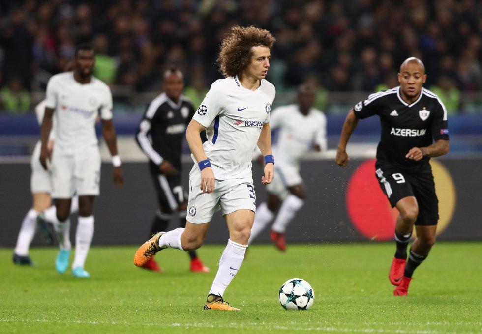 5. David Luiz -del Chelsea al PSG- (49,5 millones de Euros)