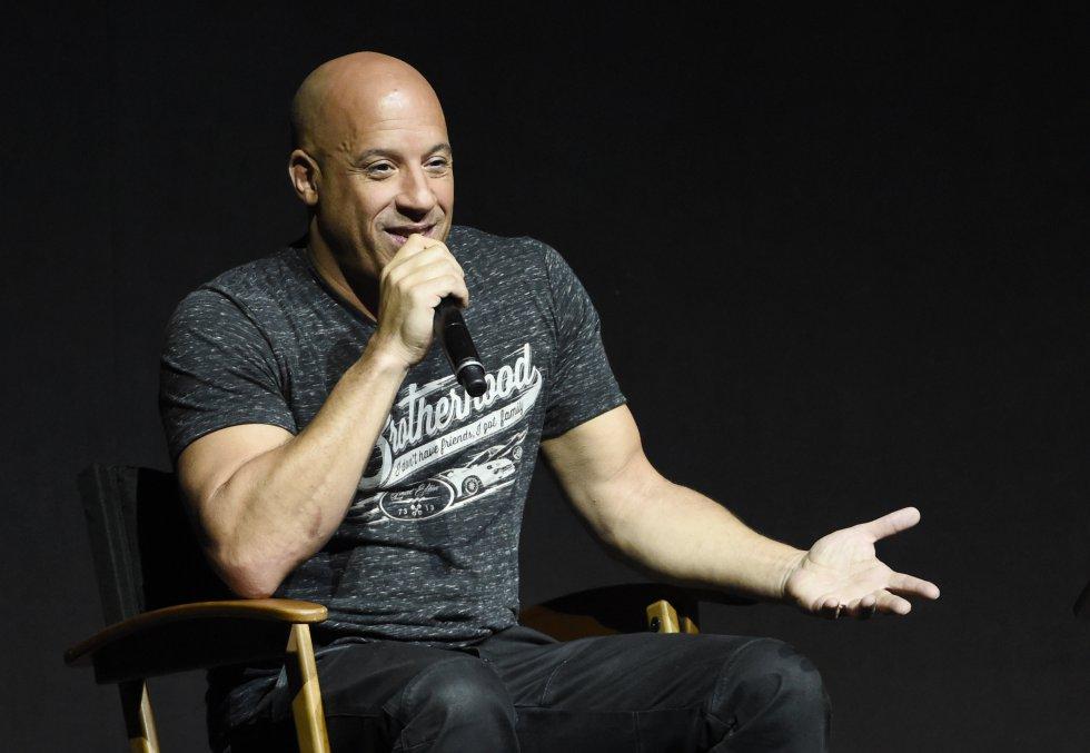 Vin Diesel, $1.6 billiones de dólares.