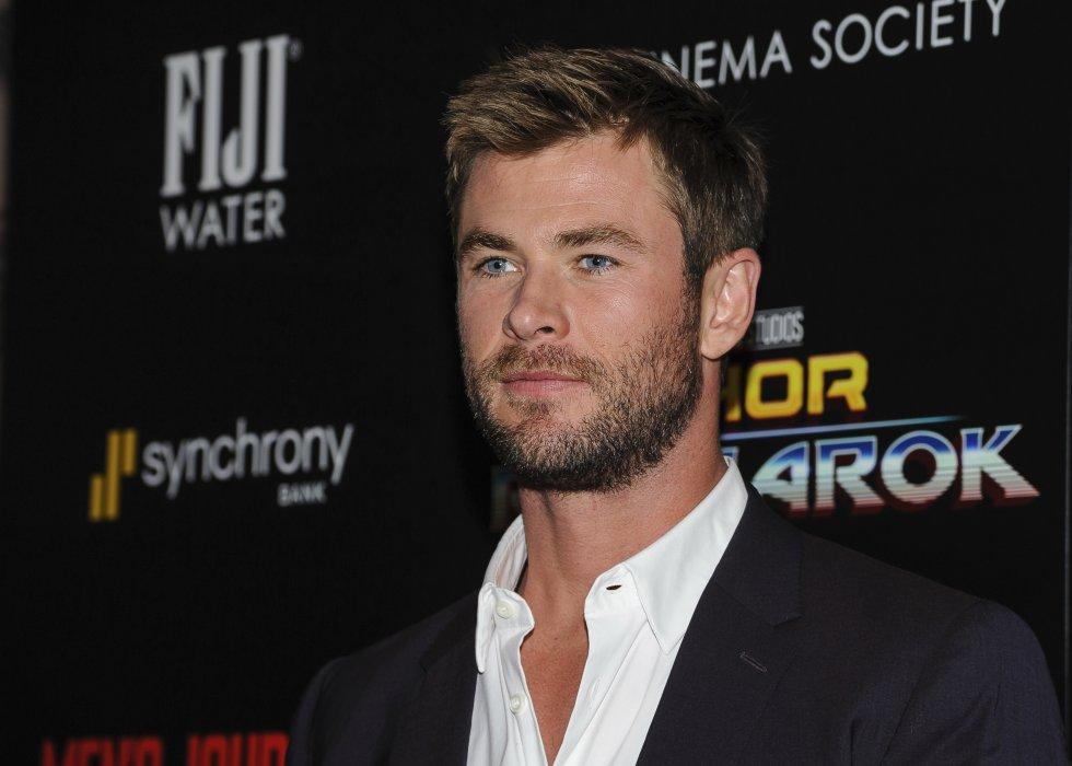 Chris Hemsworth, 845 milliones de dólares.