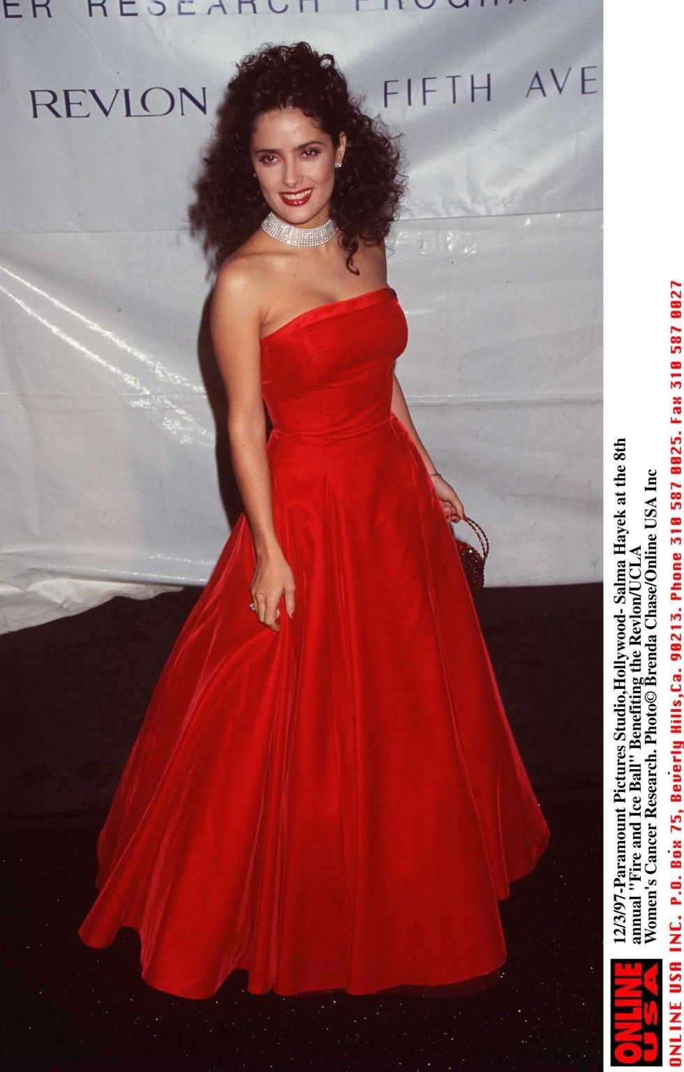 Salma Hayek nació en Varacruz México el 2 de septiembre de 1966