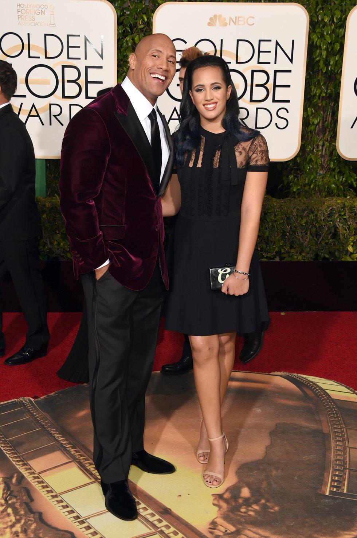 Asistió a la gala de los Globos de Oro, en la que fue vestida de negro para apoyar a la campaña Time's Up.