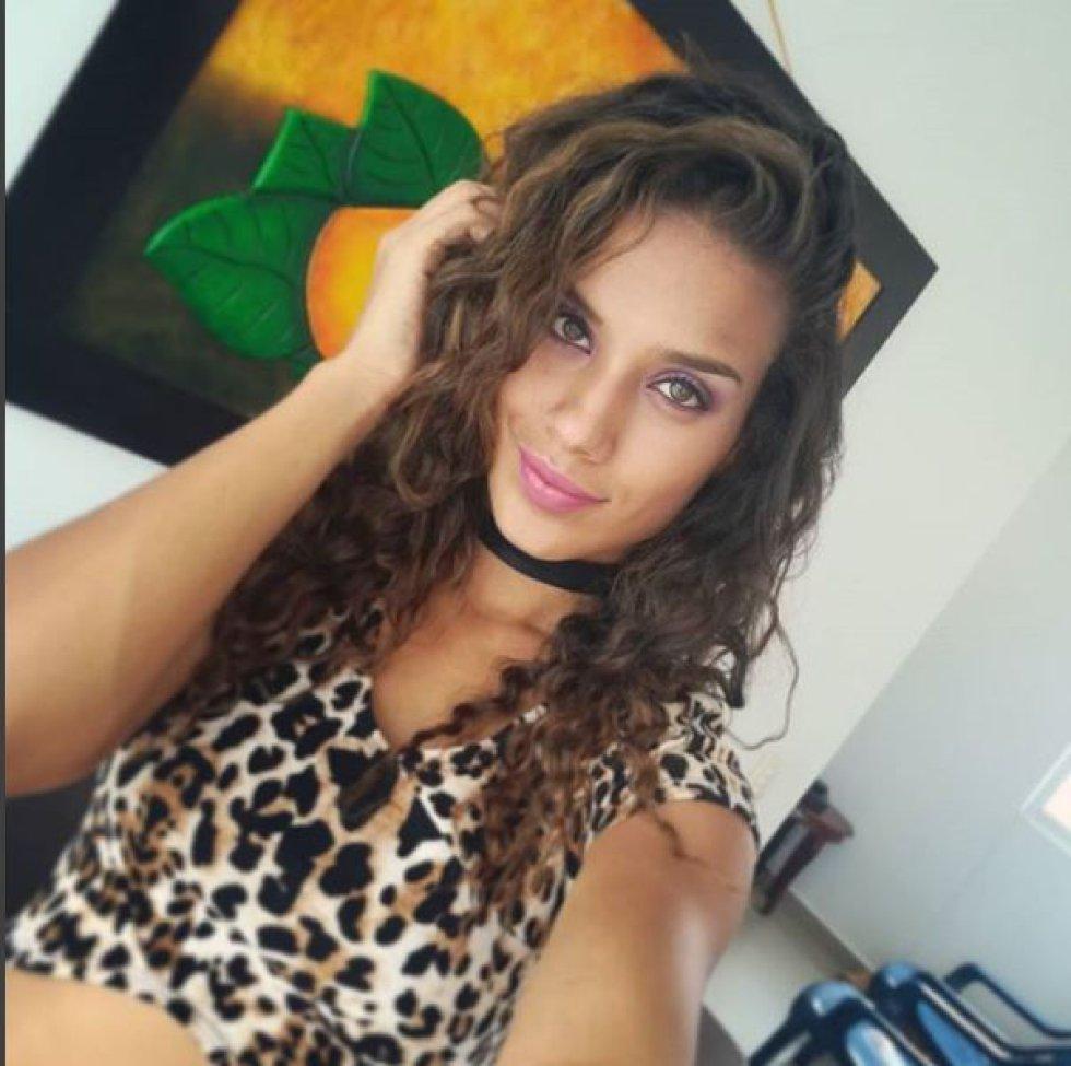 Ana María Montaño, de 22 años, estudia Comunicación Social y modelaje.