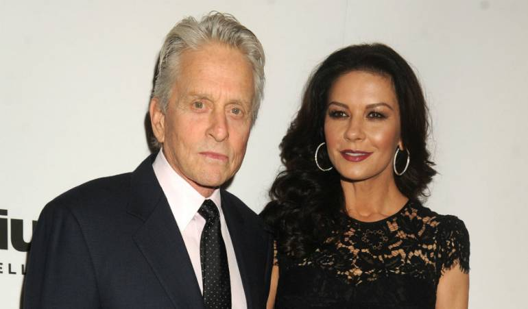 Michael Douglas y Catherine Zeta Jones