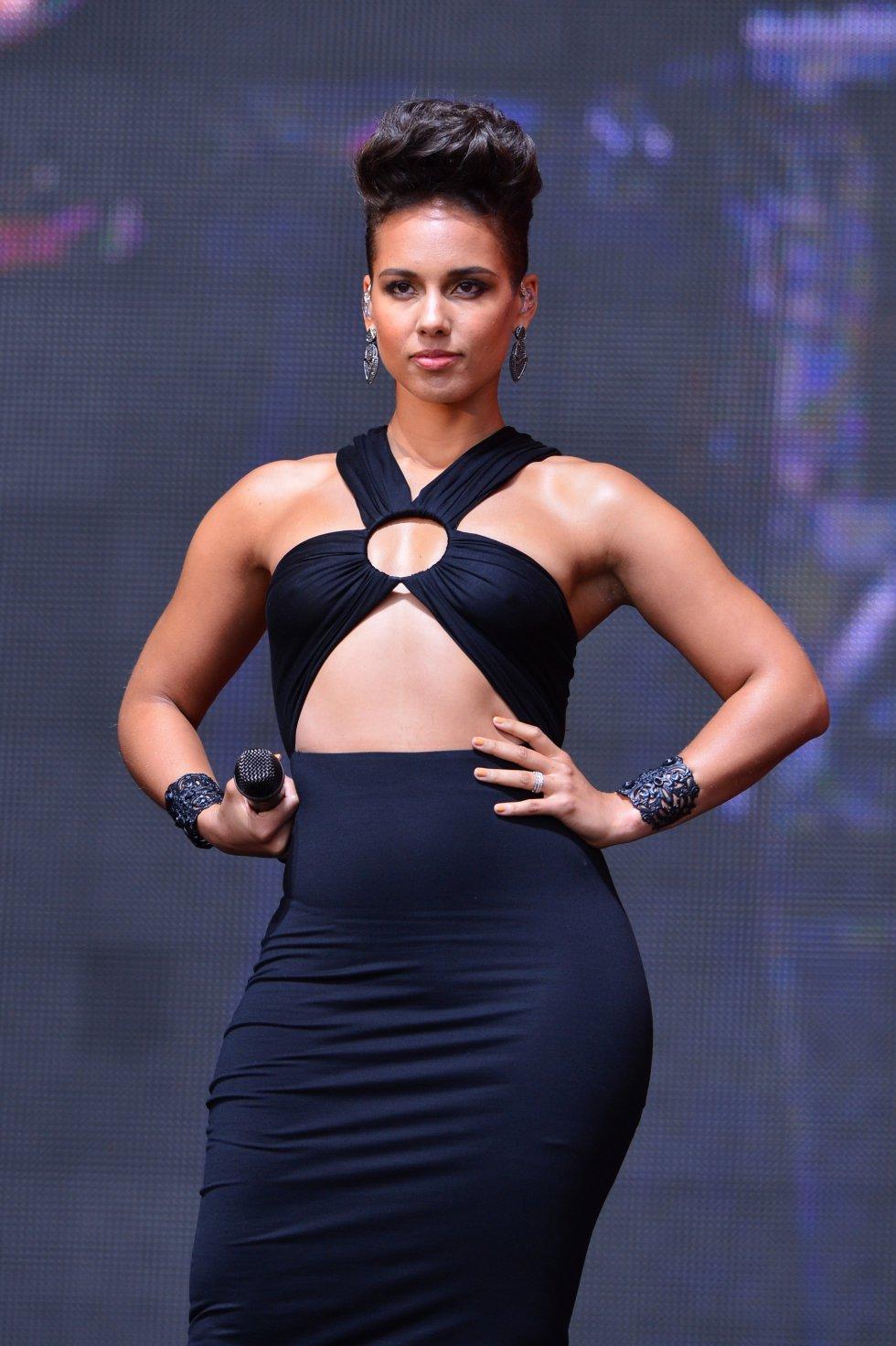 El verdadero nombre de Alicia Keys es Alicia Augello Cook