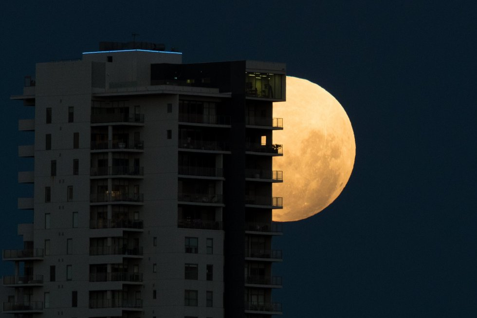 Los habitantes de gran parte del planeta apreciarán el 31 de enero un eclipse total de la llamada superluna azul