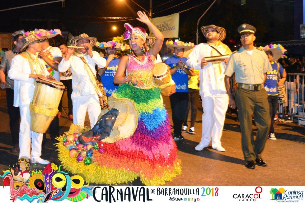 Así se vivió este evento insignia del Carnaval, patrimonio oral e inmaterial de la humanidad, según designación de la Unesco.