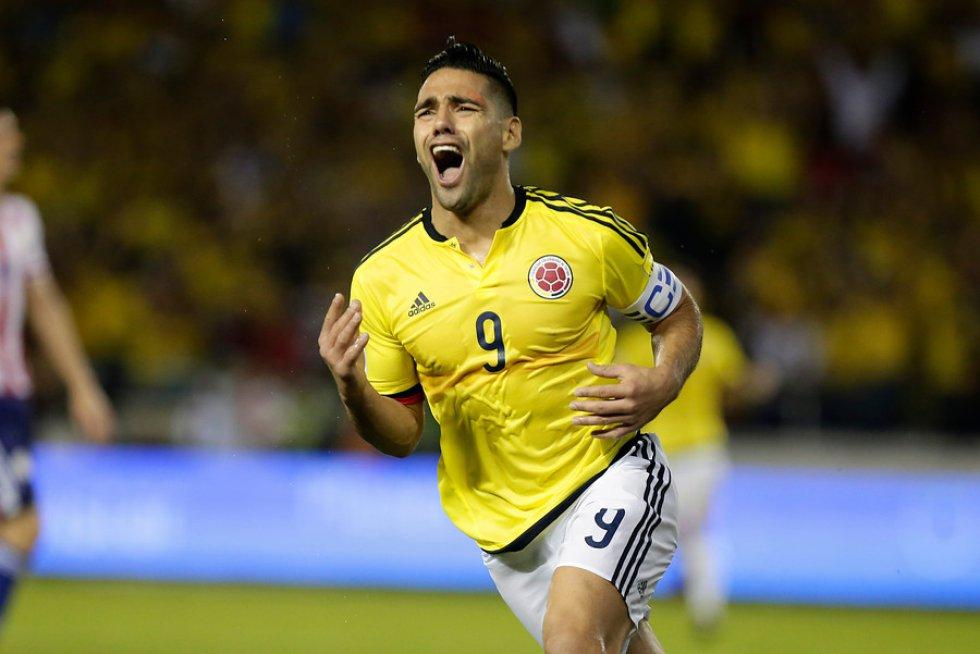 Gol de Falcao a Brasil