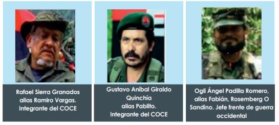 Ordenes de captura contra miembros de cúpula de ELN: Fiscalía emite orden de captura contra comando central del ELN