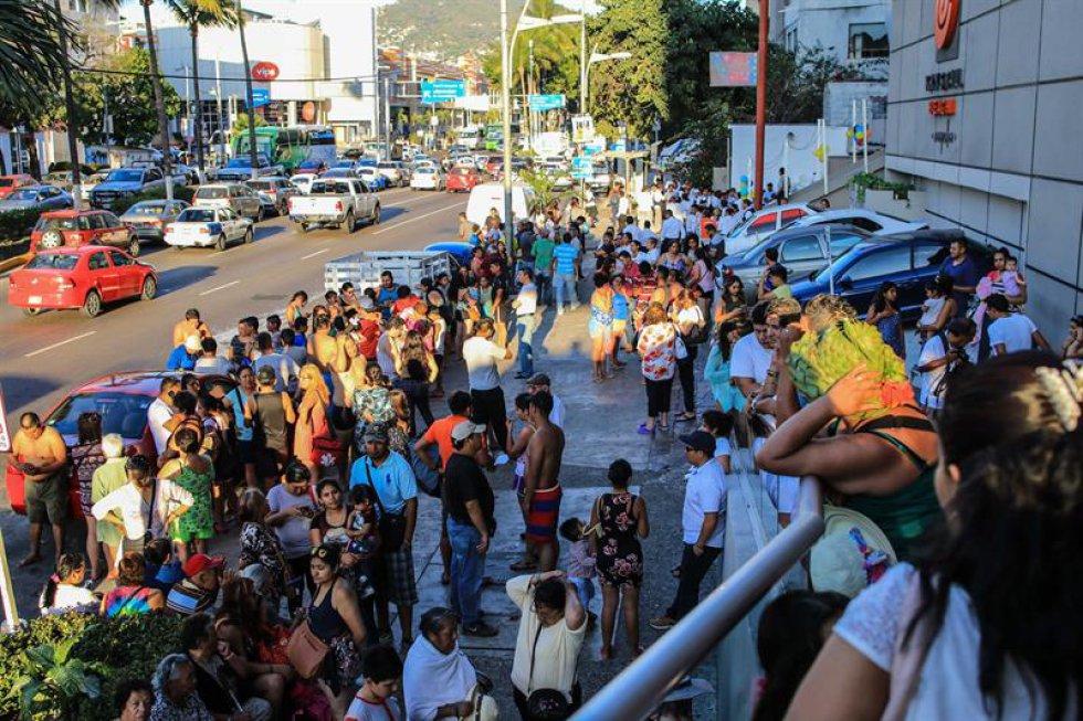 terremoto mexico: Daños en hospital de Oaxaca y otras imágenes del temblor en México