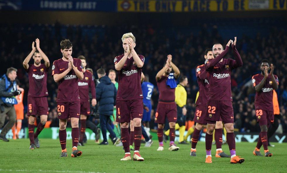 Chelsea Barcelona Champions: En imágenes: los mejores momentos del Chelsea 1-1 Barcelona
