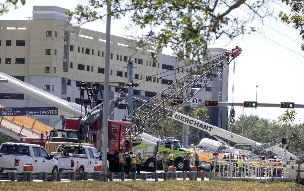 Ocho personas resultaron heridas y trasladadas a hospitales cercanos.