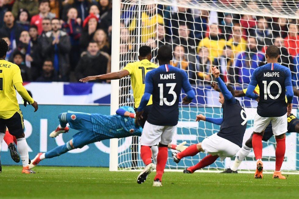 colmbia vs francia: En imágenes: el triunfo de Colombia en París 3-2 sobre Francia