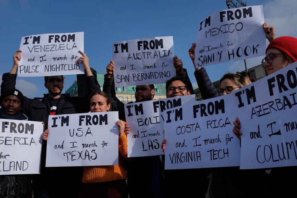 Marchas Estados Unidos: [Fotos] Así fue #MarchForOurLives la marcha que pide control de armas