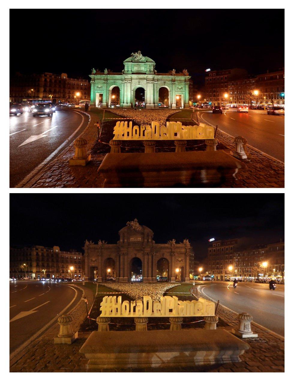 Puerta de Alcalá en Madrid, España