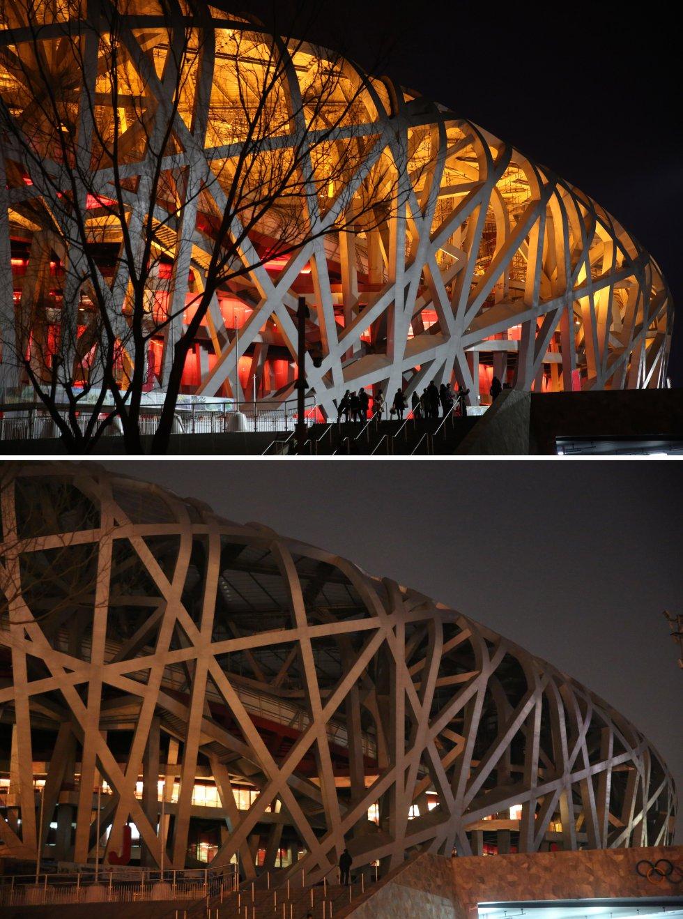 Estadio Nacional (Nido de Pájaro) - Pekin, china