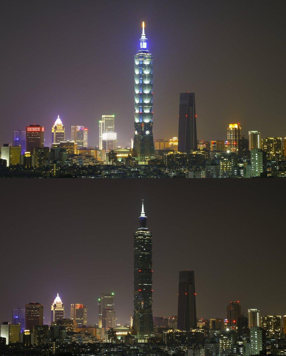 rascacielos Taipei 101 - Taipei, Taiwán.