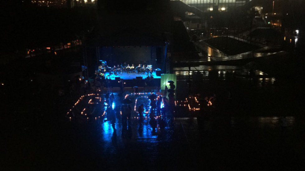 La hora del planeta Medellin, Antioquia.