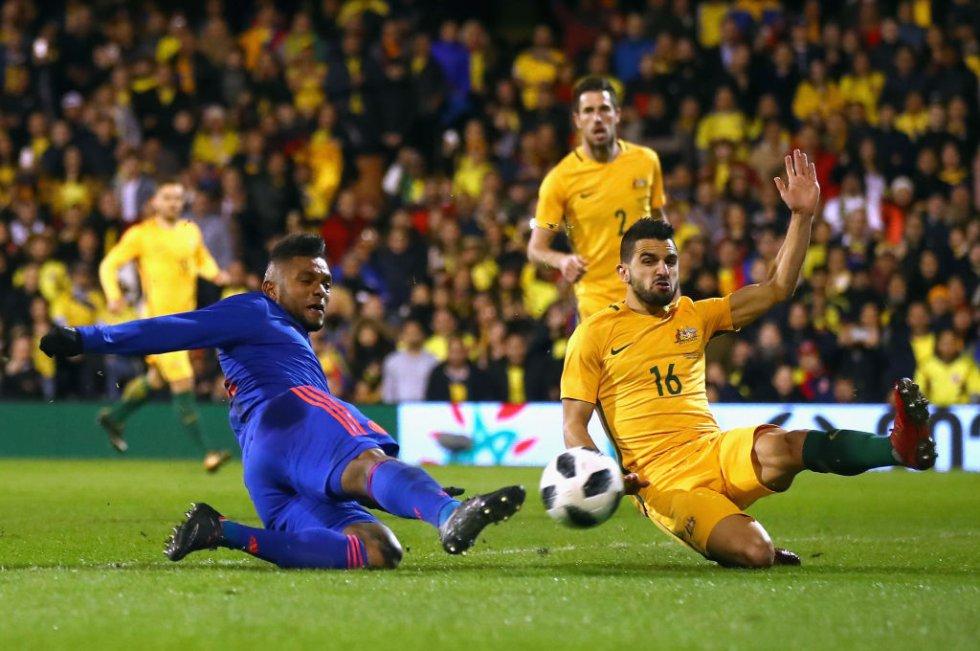 Colombia Australia: En imágenes: el empate de Colombia en Londres 0-0 frente Australia