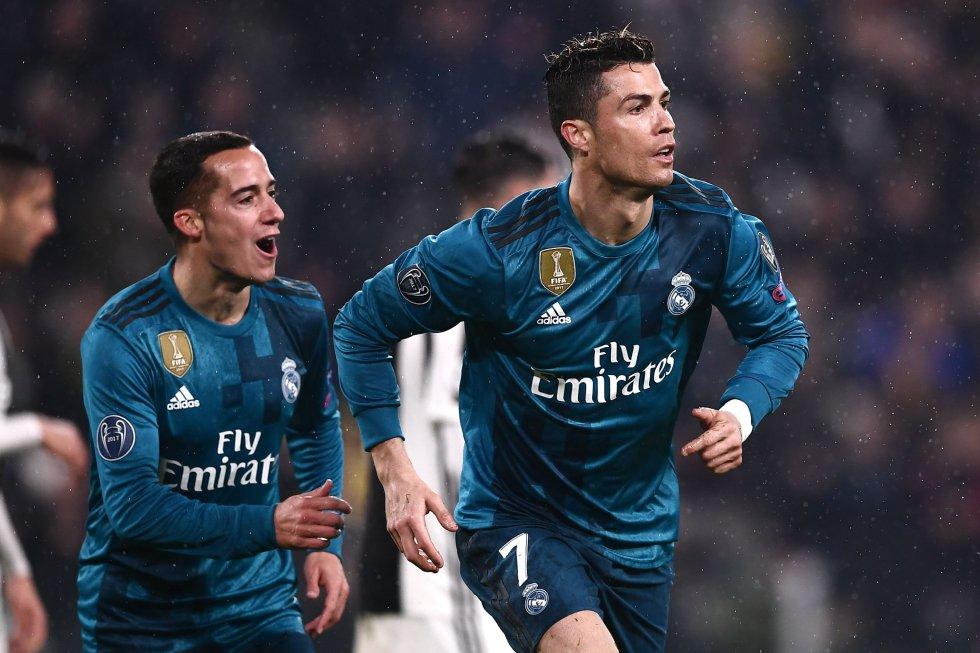 En imágenes: el golazo de chilena de Ronaldo a Buffon en Turín