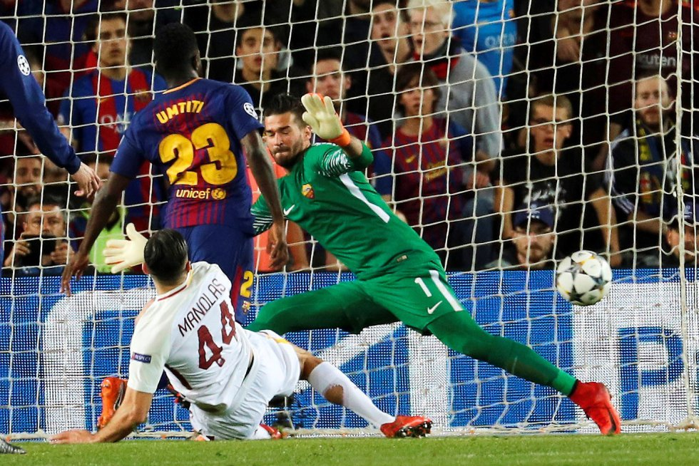 En imágenes: el triunfo del Barcelona sobre la Roma en el Camp Nou