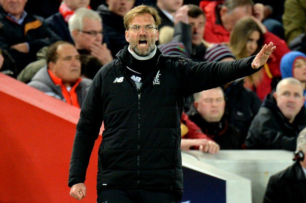Las mejores imágenes de la goleada del Liverpool al Manchester City