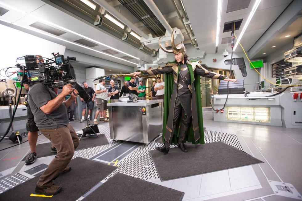 Universo Marvel: Vea las fotos inéditas del universo de Marvel Studios