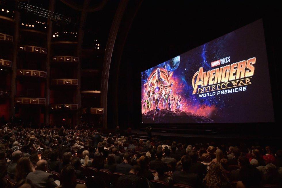En Hollywood asistieron todos los actores para ver la película.