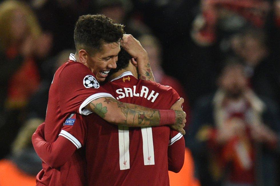 Fotogaleria Liverpool: Salah lideró la goleada del Liverpool en Anfield