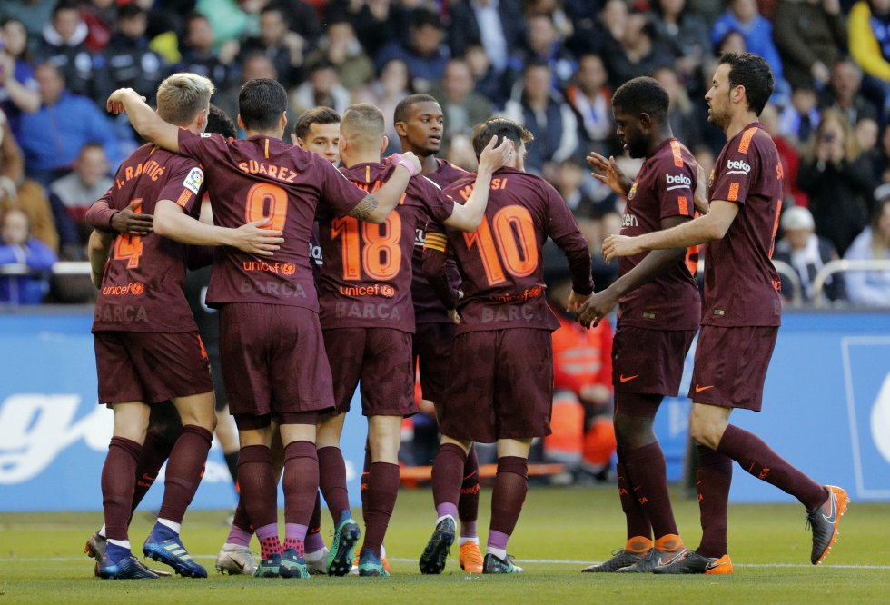 En imágenes: la celebración del Barcelona, campeón de España