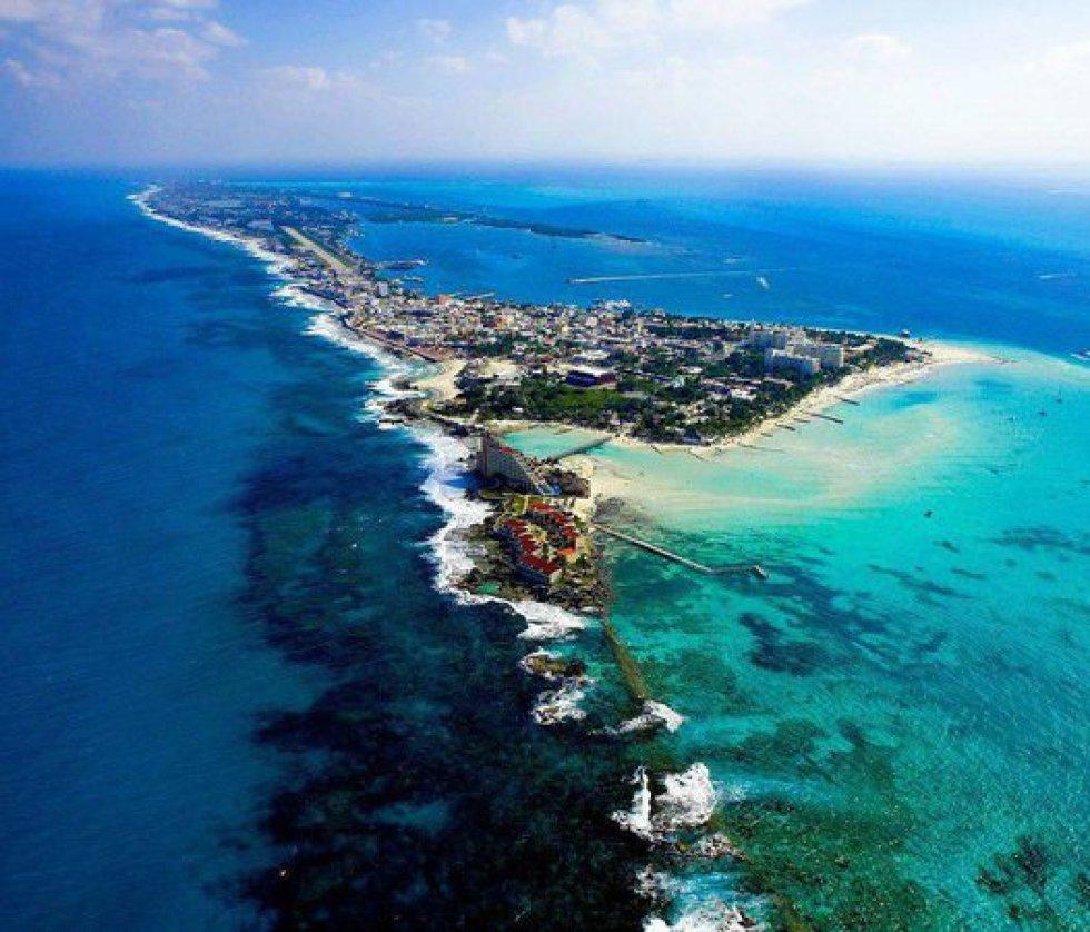 Playa Norte Isla Mujeres, México