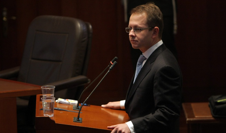 Exministro de agricultura, Andrés Felipe Arias.