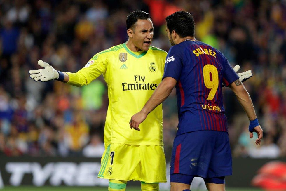 Las mejores imágenes del clásico entre Real Madrid y Barcelona