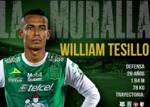 León de México confirma la llegada de William Tesillo
