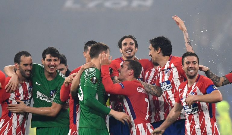 Atlético de Madrid campeon europa league: Atlético de Madrid se proclama campeón de la Europa League