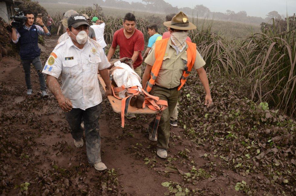 ERUPCIÓN DE VOLCÁN EN GUATEMALA: Así fue la erupción del volcán más fuerte de los últimos años en Guatemala