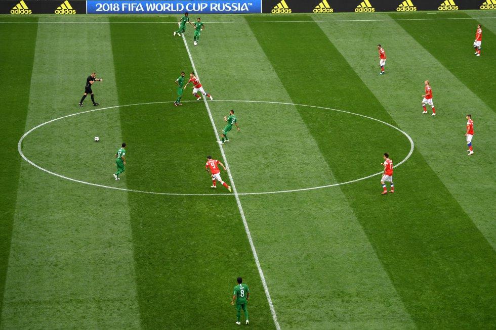Mundial 2018: Las mejores imágenes del partido inaugural entre Rusia y Arabia Saudita