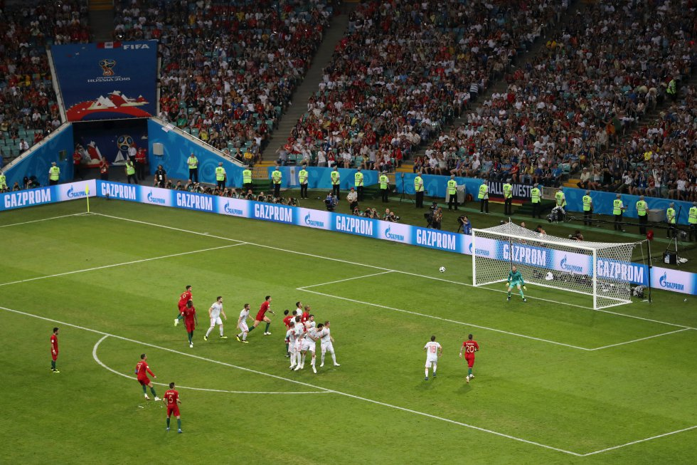 Mundial 2018: Las mejores imágenes del emocionante empate entre España y Portugal