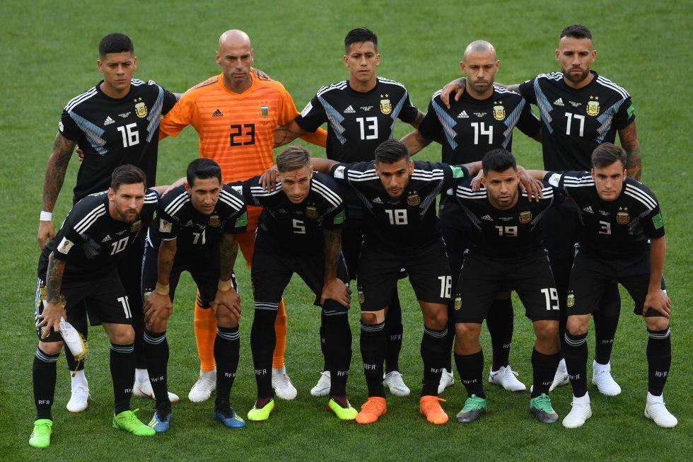 Argentina 2-1 Islandia Mundial de Rusia: Las mejores imágenes del empate 1-1 entre Argentina e Islandia