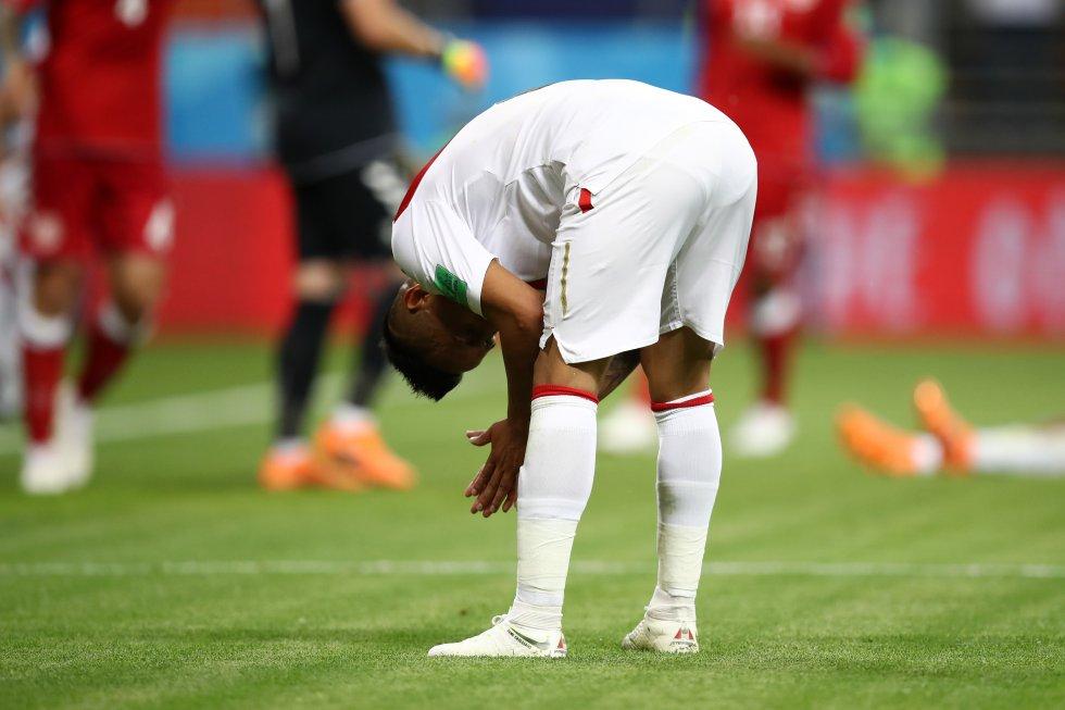 Perú Dinamarca Mundial de Rusia: En imágenes, los mejores momentos de la victoria de Dinamarca 2-0 ante Perú