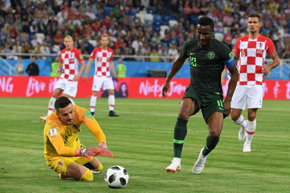 Mundial 2018: Las mejores imágenes del triunfo de Croacia ante Nigeria