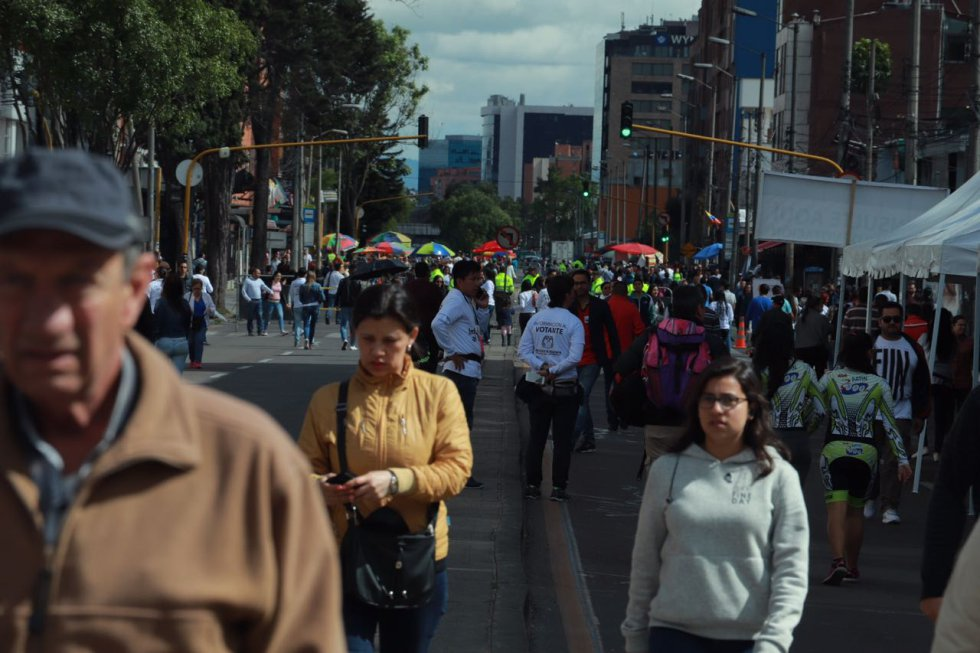 Elecciones Presidenciales Colombia 2018: Elecciones en Corferias, el puesto de mayor concentración en Colombia