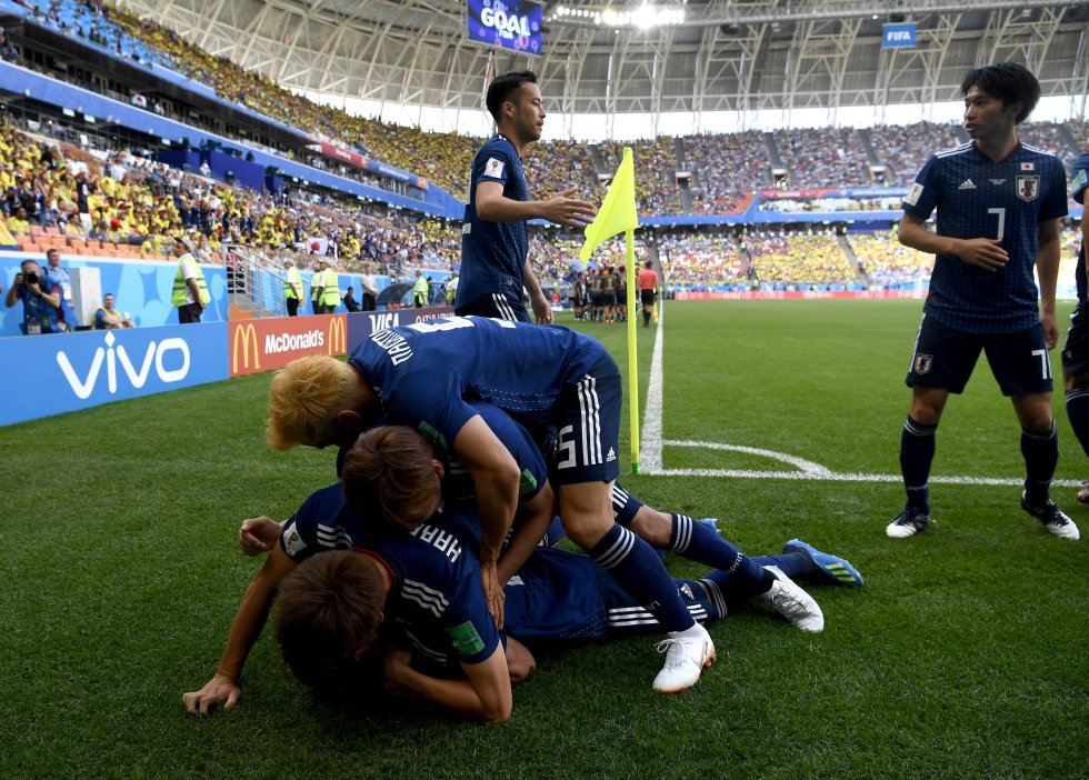 Mundial 2018: Las mejores imágenes del partido entre Colombia y Japón