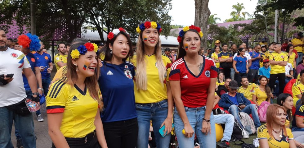 Colombia vs Japón: ¡Nerviosismo puro! así se vive el partido de la selección en todo el país