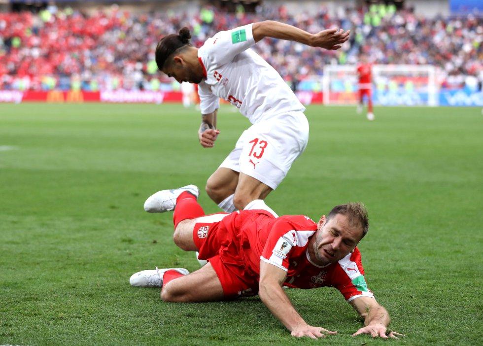 Mundial 2018: Las mejores imágenes de la victoria de Suiza ante Serbia