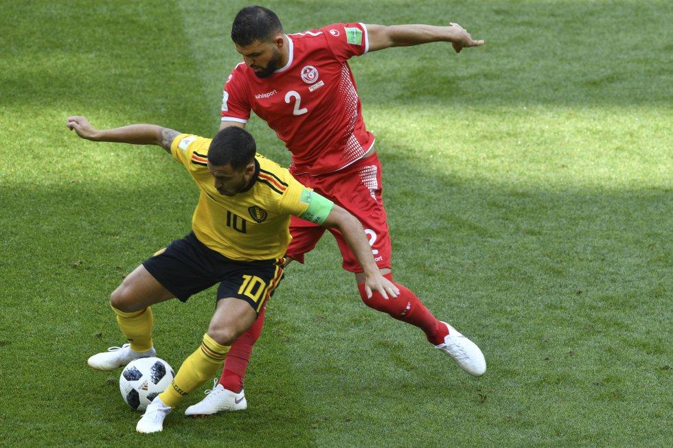 Bélgica 5-2 Túnez Mundial Rusia 2018: En imágenes, la goleada de Bélgica sobre Túnez