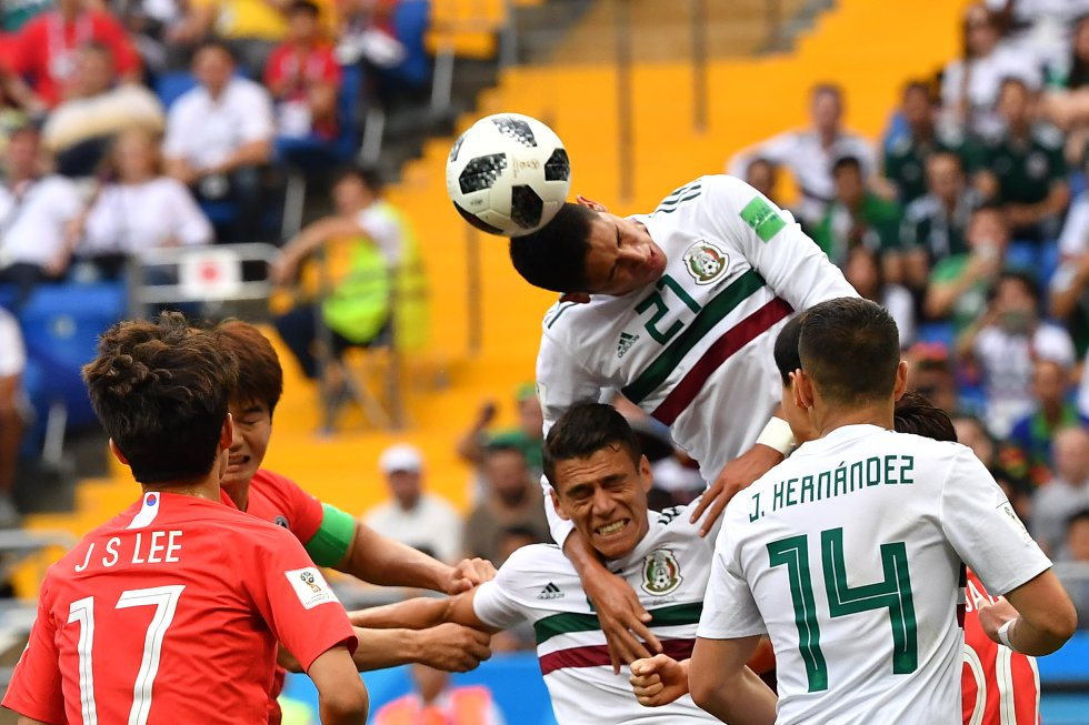 Corea del Sur 0-2 México Mundial de Rusia 2018: Las mejores imágenes del triunfo de México ante Corea del Sur