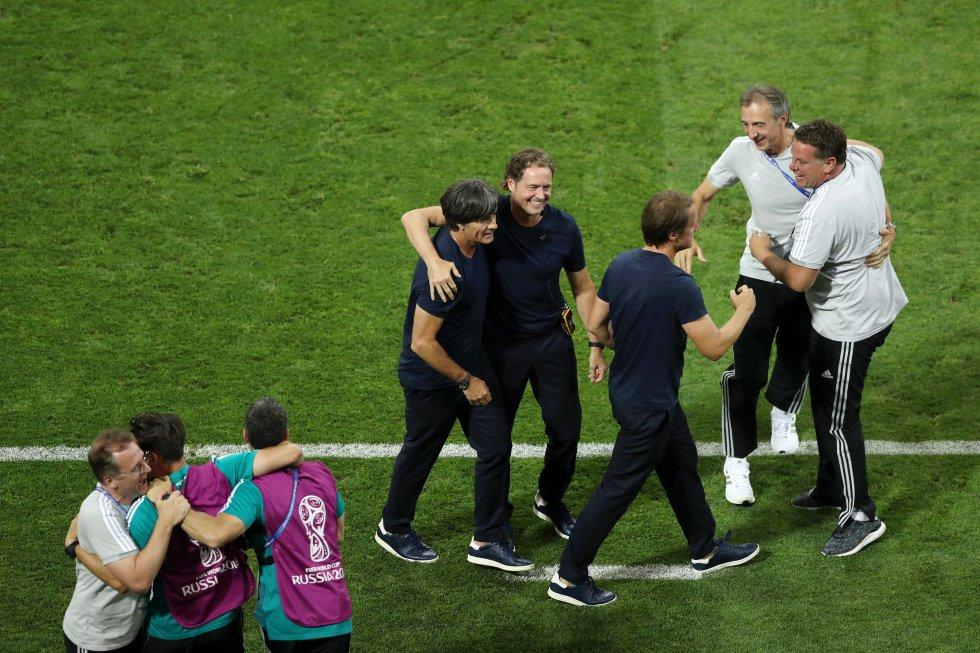 Mundial 2018 Alemania: Las mejores imágenes de la apasionante victoria de Alemania contra Suecia