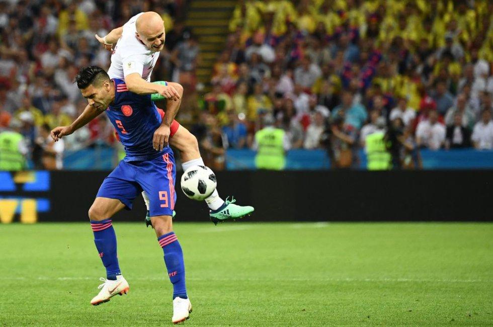 Fotogalería Colombia 1-0 Polonia: En imágenes: La victoria de Colombia sobre Polonia