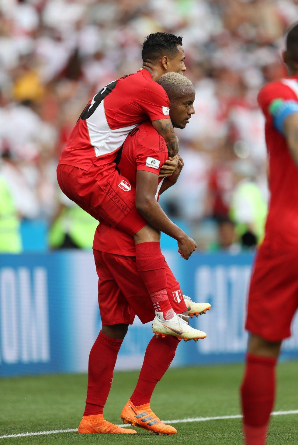 Perú 2-0 Australia online en imágenes Mundial Rusia 2018: En imágenes, la contundente victoria de Perú ante Australia
